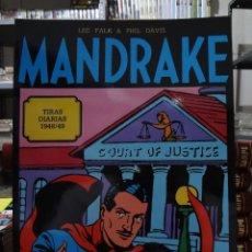 Cómics: MANDRAKE TIRAS DIARIAS 1948/49 - LEE FALK & PHIL DAVIS - EUROCLUB MAGERIT - TOMO 4. Lote 287046283