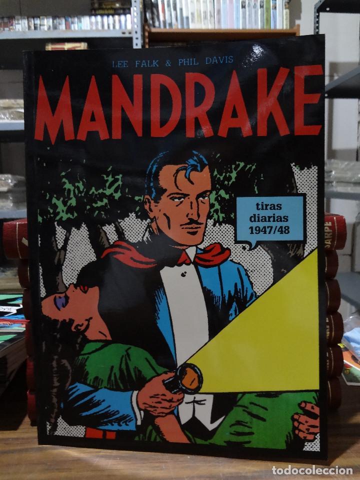MANDRAKE TIRAS DIARIAS 1947/48 - LEE FALK & PHIL DAVIS - EUROCLUB MAGERIT - TOMO 7 (Tebeos y Comics - Magerit - Mandrake)