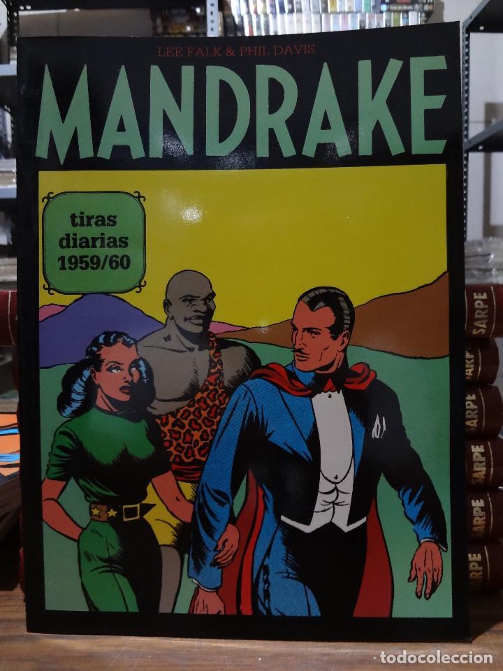 MANDRAKE TIRAS DIARIAS 1959/60 - LEE FALK & PHIL DAVIS - EUROCLUB MAGERIT - TOMO 14 (Tebeos y Comics - Magerit - Mandrake)