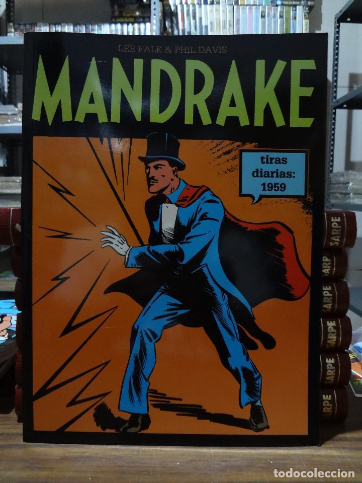 MANDRAKE TIRAS DIARIAS 1959 - LEE FALK & PHIL DAVIS - EUROCLUB MAGERIT - TOMO 12 (Tebeos y Comics - Magerit - Mandrake)