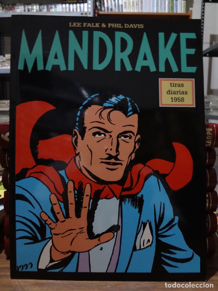 MANDRAKE TIRAS DIARIAS 1958 - LEE FALK & PHIL DAVIS - EUROCLUB MAGERIT - TOMO 43 (Tebeos y Comics - Magerit - Mandrake)
