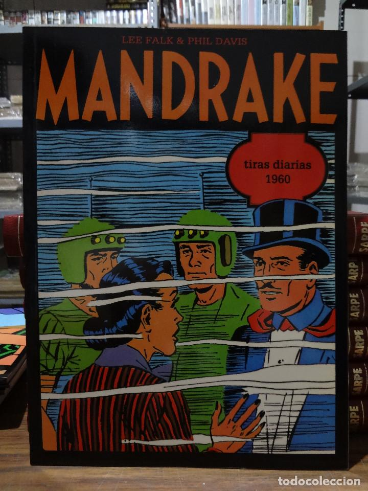 MANDRAKE TIRAS DIARIAS 1960 - LEE FALK & PHIL DAVIS - EUROCLUB MAGERIT - TOMO 16 (Tebeos y Comics - Magerit - Mandrake)