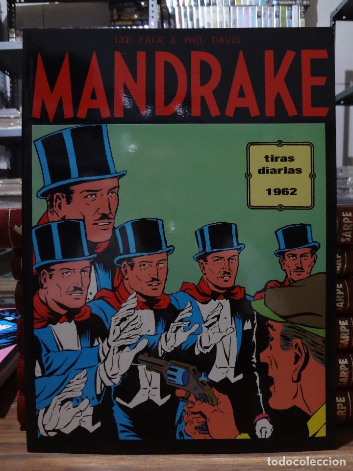 MANDRAKE TIRAS DIARIAS 1962 - LEE FALK & PHIL DAVIS - EUROCLUB MAGERIT - TOMO 3 (Tebeos y Comics - Magerit - Mandrake)
