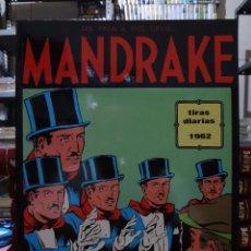 Cómics: MANDRAKE TIRAS DIARIAS 1962 - LEE FALK & PHIL DAVIS - EUROCLUB MAGERIT - TOMO 3. Lote 287046808