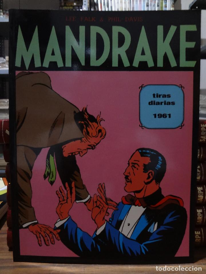 MANDRAKE TIRAS DIARIAS 1961 - LEE FALK & PHIL DAVIS - EUROCLUB MAGERIT - TOMO 2 (Tebeos y Comics - Magerit - Mandrake)