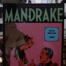 Cómics: MANDRAKE TIRAS DIARIAS 1961 - LEE FALK & PHIL DAVIS - EUROCLUB MAGERIT - TOMO 2. Lote 287046838