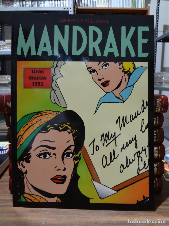 MANDRAKE TIRAS DIARIAS 1951 - LEE FALK & PHIL DAVIS - EUROCLUB MAGERIT - TOMO 21 (Tebeos y Comics - Magerit - Mandrake)