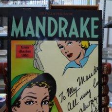 Cómics: MANDRAKE TIRAS DIARIAS 1951 - LEE FALK & PHIL DAVIS - EUROCLUB MAGERIT - TOMO 21. Lote 287046853