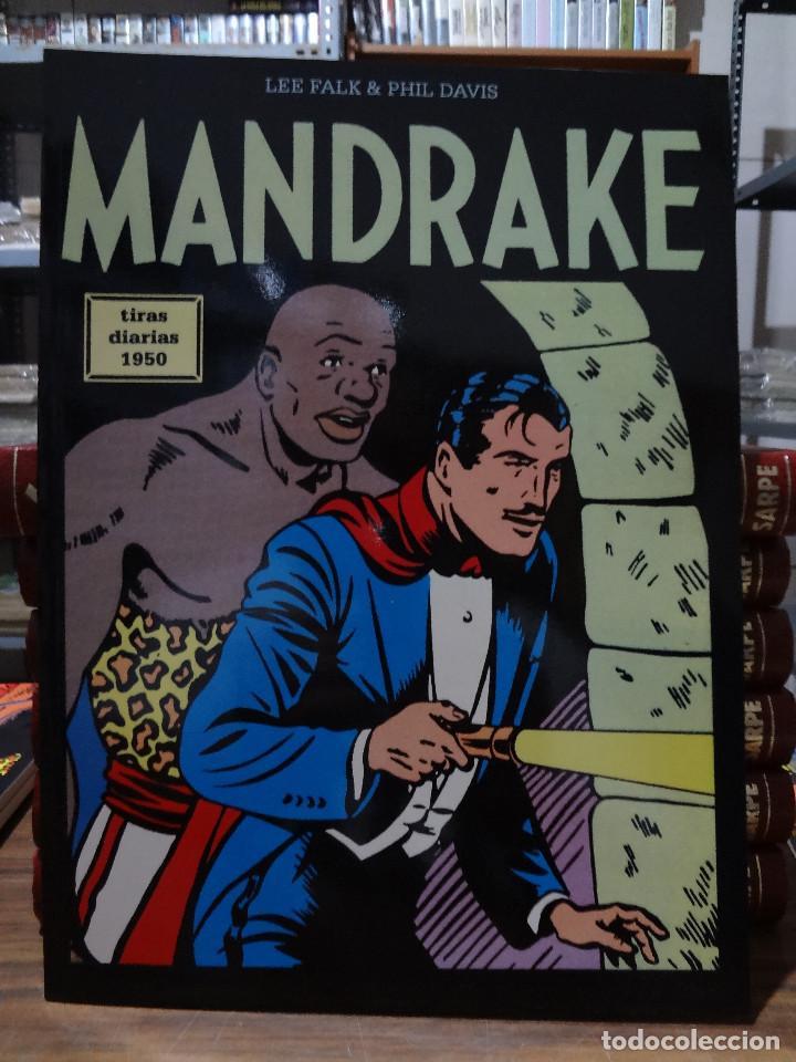 MANDRAKE TIRAS DIARIAS 1950 - LEE FALK & PHIL DAVIS - EUROCLUB MAGERIT - TOMO 17 (Tebeos y Comics - Magerit - Mandrake)