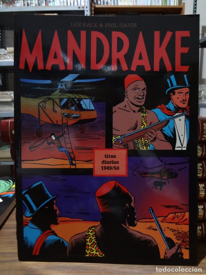 MANDRAKE TIRAS DIARIAS 1949/50 - LEE FALK & PHIL DAVIS - EUROCLUB MAGERIT - TOMO 15 (Tebeos y Comics - Magerit - Mandrake)