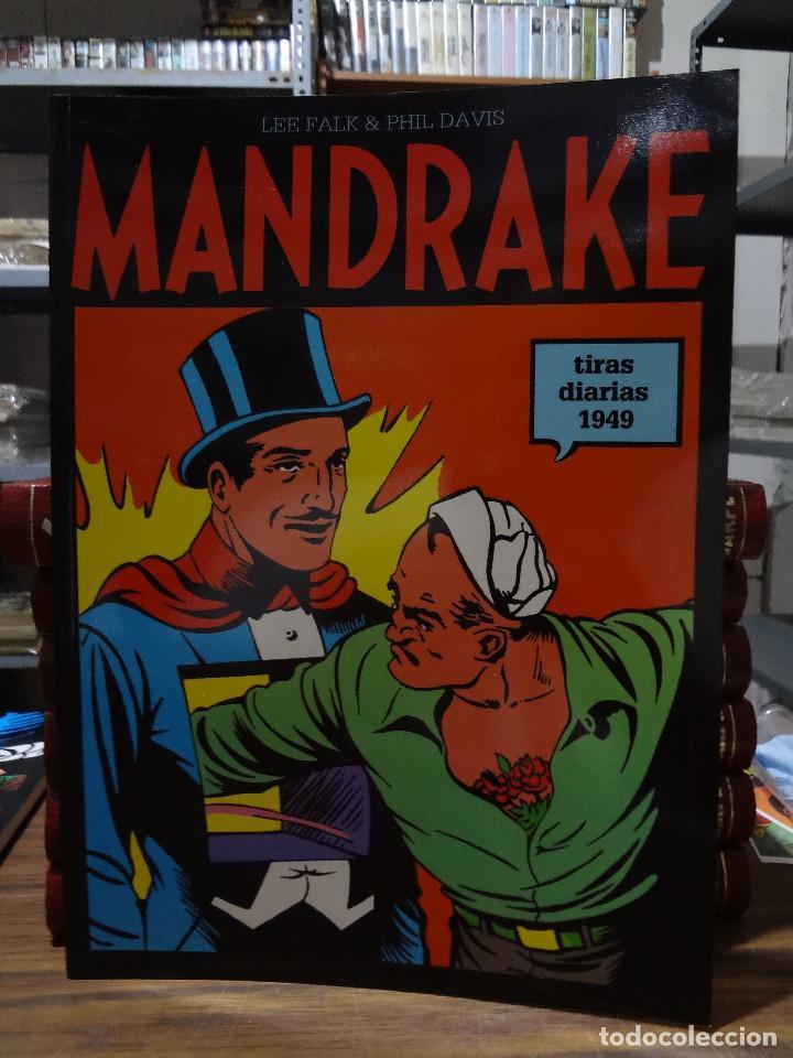 MANDRAKE TIRAS DIARIAS 1949 - LEE FALK & PHIL DAVIS - EUROCLUB MAGERIT - TOMO 13 (Tebeos y Comics - Magerit - Mandrake)