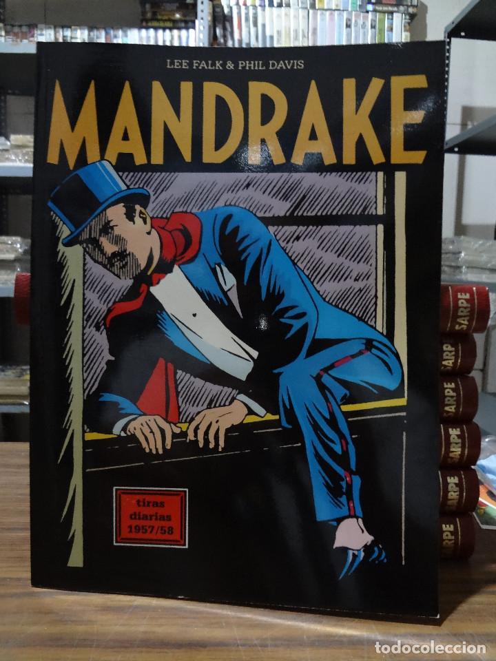 MANDRAKE TIRAS DIARIAS 1957/58 - LEE FALK & PHIL DAVIS - EUROCLUB MAGERIT - TOMO 22 (Tebeos y Comics - Magerit - Mandrake)
