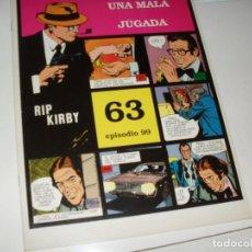 Cómics: RIP KIRBY 63.EDICIONES MAGERIT,AÑO 1999.UNICA EDICION EN ESPAÑOL.. Lote 293726368