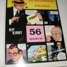 Cómics: RIP KIRBY 56.EDICIONES MAGERIT,AÑO 1999.UNICA EDICION EN ESPAÑOL.. Lote 293736218