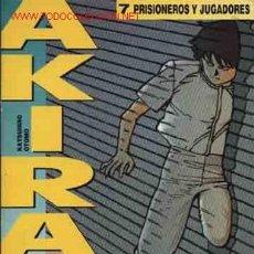 Cómics: 1.990 = = AKIRA = = KATSUHIRO OTOMO = = 7 PRISIONEROS Y JUGADORES. = = DRAGON GLENAT. Lote 3608045