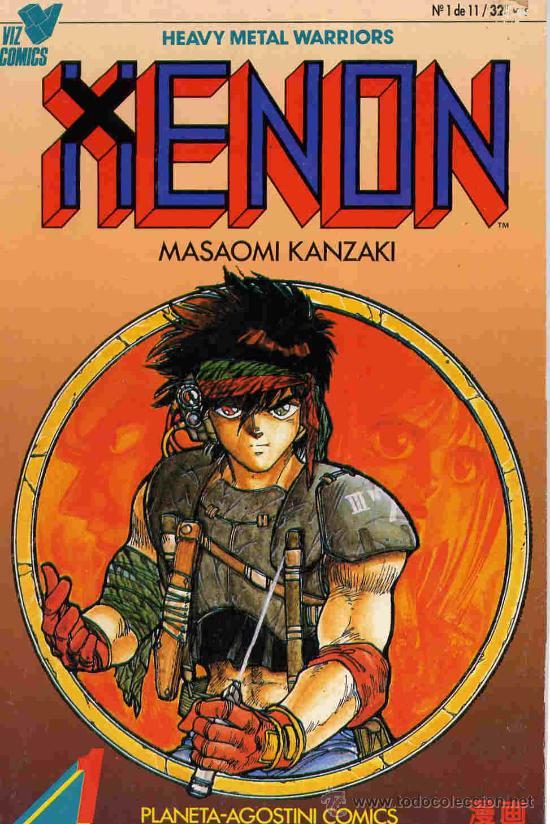 XENON. COMPLETA 11 Nº. (Tebeos y Comics - Manga)