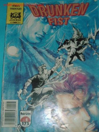DRUNKEN FIST Nº8 (Tebeos y Comics - Manga)