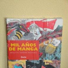 Cómics: MIL AÑOS DE MANGA. . Lote 10966067