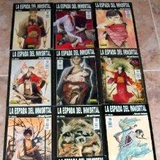 Cómics: LA ESPADA DEL INMORTAL (1º ED. COMIC-BOOKS DE NORMA). HIROAKI SAMURA. Lote 26315508