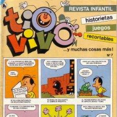 Cómics: TIOVIVO Nº 7 EDICITORIAL BRUGUERA. Lote 14413624