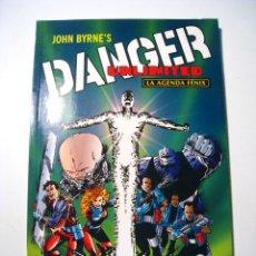Cómics: COMIC DANGER UNLIMITED: LA AGENDA FENIX - NORMA - 1997. Lote 267547599