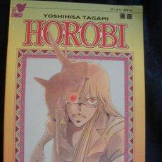 Cómics: HOROBI. YOSHIHISA TAGAMI. PLANETA. Nº 1.. Lote 16476574