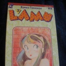 Cómics: LAMU.RUMIKO TAKAHASHI. PLANETA. Nº 2. Lote 16476644