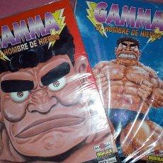 Cómics: GAMMA, EL HOMBRE DE HIERRO - NUMEROS 1 Y 2 (TETSUJIN GAMMA). Lote 26790620