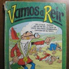 Cómics: VAMOS A REIR NUMERO 2 - EDICIONES BRUGUERA. Lote 20788156