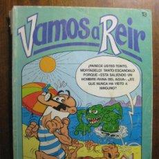 Cómics: VAMOS A REIR NUMERO 13 - EDICIONES BRUGUERA. Lote 20788205