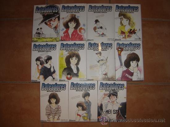 BATEADORES / TOUCH (SERIE COMPLETA - 11 TOMOS DE OTAKULAND) (Tebeos y Comics - Manga)