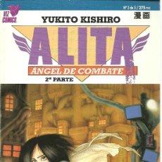 Cómics: ALITA - ANGEL DE COMBATE Nº 3 DE 5 - 2ª PARTE - YUKITO KISHIRO - PLANETA-DEAGOSTINI - 1995. Lote 24455939