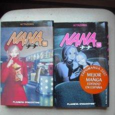 Cómics: NANA DE AI YAZAWA - NUMEROS 11 Y 12 EDITADO POR PLANETA DEAGOSTINI. Lote 27149108