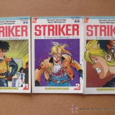 Cómics: STRIKER. SERIE COMPLETA DE 3 COMICS. ED.1993. STRIKER. EL GUERRERO BLINDADO.. Lote 25548955
