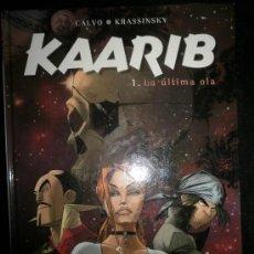 Comics : KAARIB 1 LA ÚLTIMA OLA. Lote 28285769