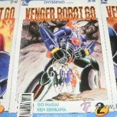 Cómics: VENGER ROBOT GO COMPLETA 3 COMICS . Lote 28365955