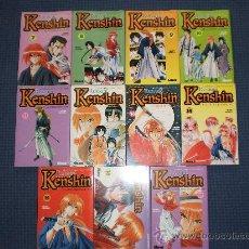 Cómics: RUROUNI KENSHIN MANGA TOMOS 7 AL 17 NUEVOS DESCATALOGADOS SAGA DE SHISHIO COMPLETA KIOTO HEN. Lote 111240695