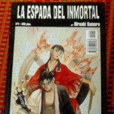 Cómics: ESPADA INMORTAL Nº 4 COMICS MANGA HIROAKI SAMURA. Lote 29209220