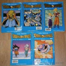Cómics: LOTE 5 NÚMEROS DE DRAGONBALL POR AKIRA TORIYAMA DE ED. PLANETA DEAGOSTINI COMICS EN BARCELONA 1998. Lote 29414917