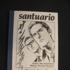 Cómics: SANTUARIO - Nº 2 - RYOICHI IKEGAMI - SADEL, GRUPO DE FANEDITORES DE MANGA - . Lote 30065973