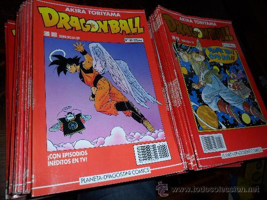 Dragon ball , bola de dragon serie roja colecc - Vendido