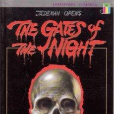 Cómics: COMPLETA - GATES OF THE NIGHT # 1 AL 4 (JADEMAN,1990) - MANHUA - TERROR. Lote 30407112