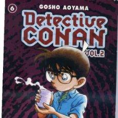 Cómics: GOSHO AOYAMA Nº6 : DETECTIVE CONAN VOL.2 (PLANETA, 2002). Lote 31022854