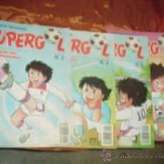 Cómics: SUPERGOL. Nº 2, 3, 4 Y 5. COMIC DE FUTBOL. MULTILIBRO 1990. COMIC MANGA *. Lote 32310897