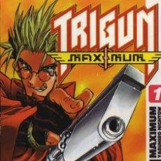 Cómics: TRIGUN MAXIMUM Nº 1 - YASUHIRO NIGHTOW - GLÉNAT. Lote 34114887