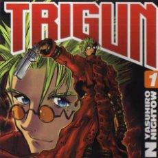 Cómics: TRIGUN Nº 1 - YASUHIRO NIGHTOW - GLÉNAT. Lote 139106278
