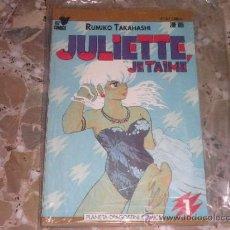 Cómics: JULIETTE JE T'AIME 1 AL 4 PLANETA COMICS. Lote 34863354