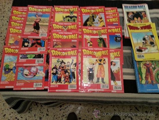 Lote de 50 comics de dragon ball z serie roja, - Vendido