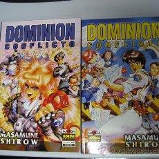 Cómics: DOMINION : CONFLICTO Nº 1 Y 2 - MASAMUNE SHIROW / NORMA EDITORIAL. Lote 36277687