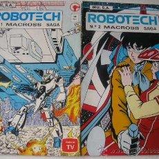 Comics : LOTE ROBOTECH MACROSS Nº 1 Y 2 MANGA EDIT.IRU. Lote 36448626